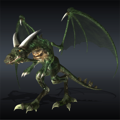 Galería de Criaturas Mágicas Monster_Vywern